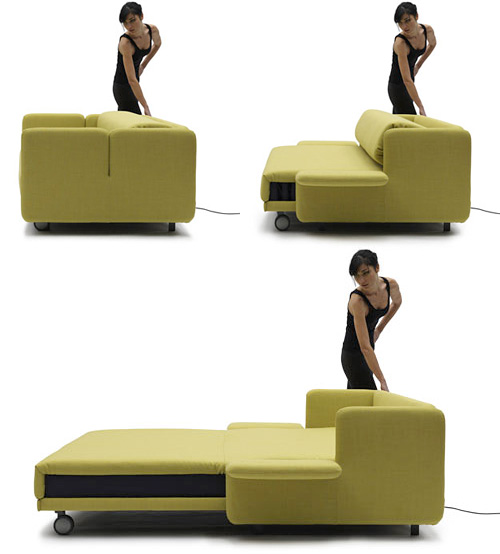 WOW Sofa Bed (Images courtesy Design Milk)