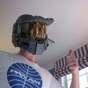 Someone Recreated Master Chief's Helmet From Legos