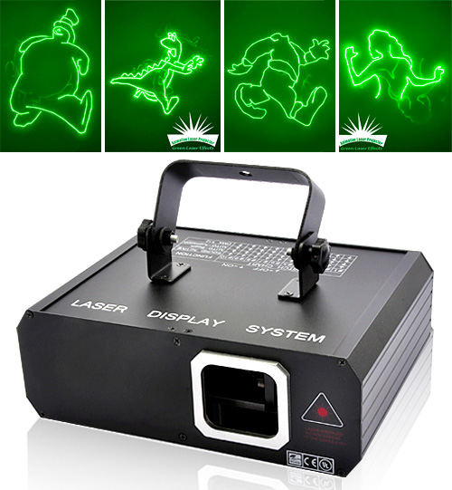 Animated Laser Projector (Images courtesy Chinavasion)