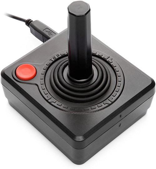 USB Equipped Classic Joystick (Image courtesy ThinkGeek)