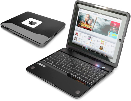 Crux360 iPad Clamshell Keyboard Case (Image courtesy CruxCase)
