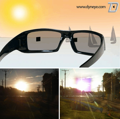 Dynamic Eye Sunglasses (Images courtesy Dyneye.com)
