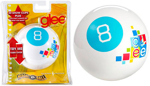 Glee Themed Magic 8 Ball (Image courtesy Fox Shop)