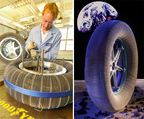 NASA & Goodyear's Spring Tire (Images courtesy Goodyear)