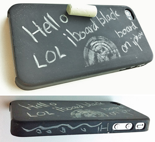 iBlackBoard iPhone Case Concept (Images courtesy KALOMIX)