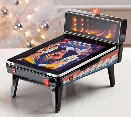 iPad Pinball Magic Appcessory (Image courtesy Brookstone)