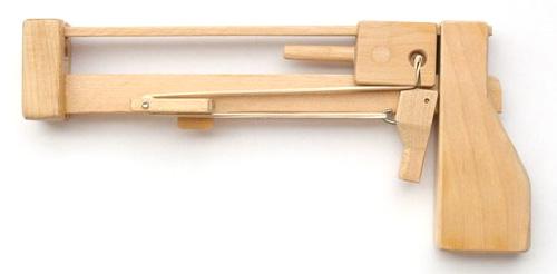 Jenga Pistol (Image courtesy Matthias Wandel)