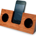 koostik Wooden iPhone Amplifier