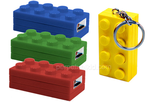 LEGO Block Key Light (Image courtesy Perpetual Kid)