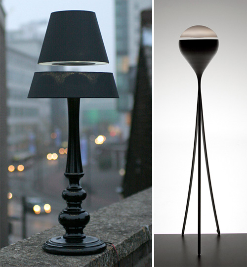 LOS! Levitating Lamps (Images courtesy LOS!Concepts)