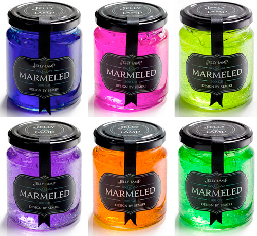 Marmeled Jelly Lamps (Images courtesy JellyLamp)
