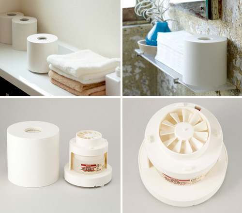 MUJI Toilet Paper Roll Bathroom Deodorizer (Images courtesy Impress Watch)