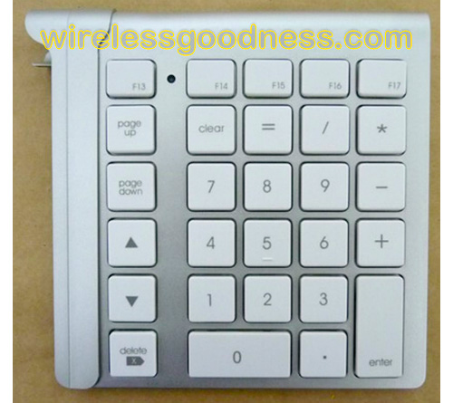 LMP Keypad (Image courtesy Wirelessgoodness.com)