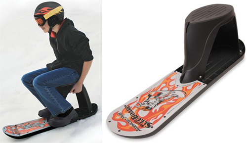 Seated Snowboard (Images courtesy Hammacher Schlemmer)