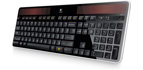 Wireless Solar Keyboard K750 (Image courtesy Logitech)