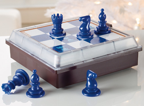 Solitaire Chess (Image courtesy Brookstone)