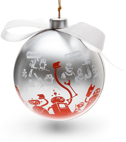 TannenBomb Ornament (Image courtesy ThinkGeek)