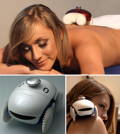 WheeMe Massage Robot (Images courtesy DreamBots)