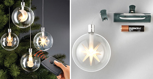 These Wireless LED Christmas Tree Ornaments Don't Really Seem That ...
