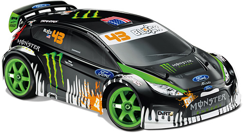 Ken Block's RC Ford Fiesta (Image courtesy Traxxas)