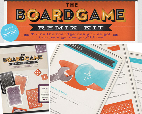 The Boardgame Remix Kit (Images courtesy Hide and Seek Productions Ltd.)