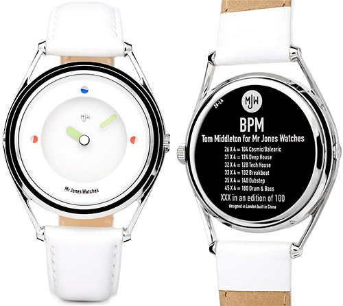 BPM Watch (Images courtesy Mr. Jones Watches)