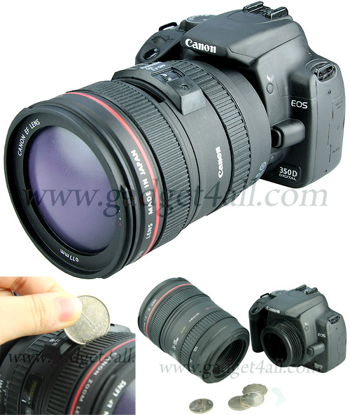 Canon DSLR Bank (Images courtesy Gadget4all)