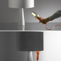 Cau Table Lamp Makes Your Hanging Work Light Aesthetically Pleasing