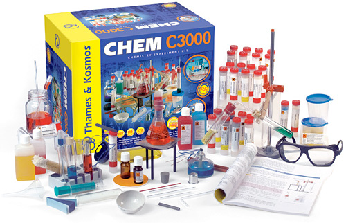 Chem C3000 Chemistry Set (Image courtesy Thames & Kosmos)
