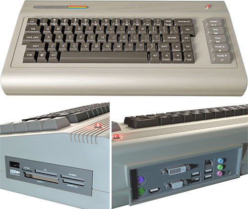 Commodore 64x (Images courtesy Commodore USA)