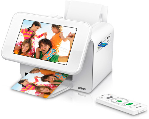 Epson PictureMate Show Digital Frame & Printer (Image courtesy Epson)