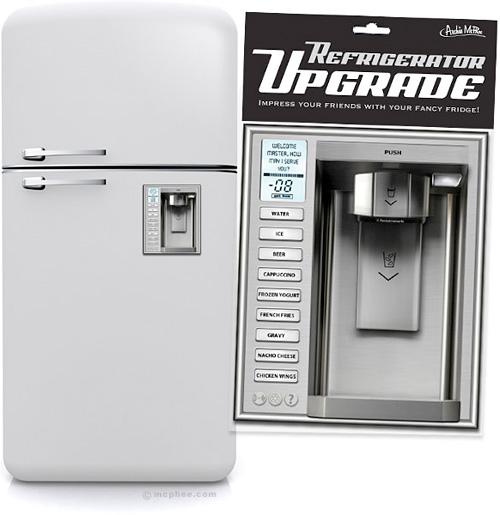 Refrigerator Upgrade Magnet (Image courtesy Archie McPhee)