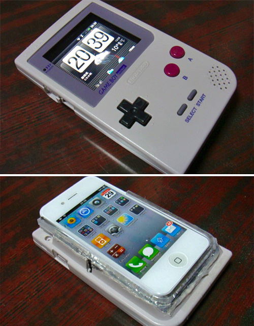 Game Boy Android iPhone 4 (Images courtesy Goteking)