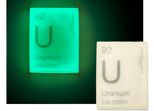 Glow In The Dark Uranium Soap (Image courtesy Perpetual Kid)