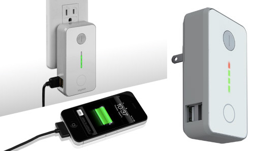 VogDUO Green Wall Charger (Images courtesy VogDUO)