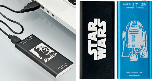 Star Wars USB Hand Warmers (Images courtesy Takara Tomy)