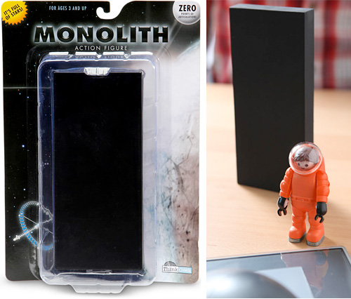 Monolith Action Figure (Images courtesy ThinkGeek)