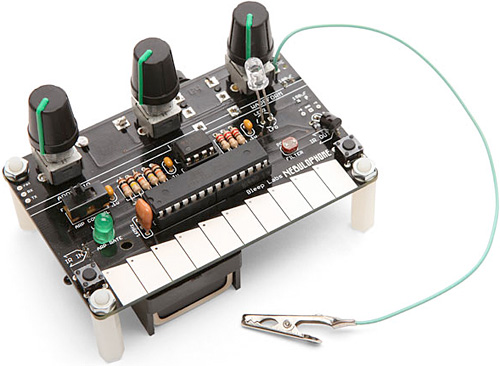 Nebulophone Mini Arduino Synthesizer Kit (Image courtesy ThinkGeek)