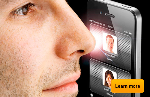 NoseDial App (Image courtesy NoseDial)