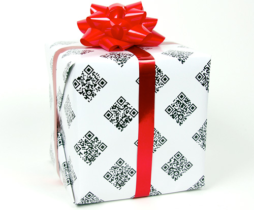 QRapping Paper (Image courtesy Looptid Industries)