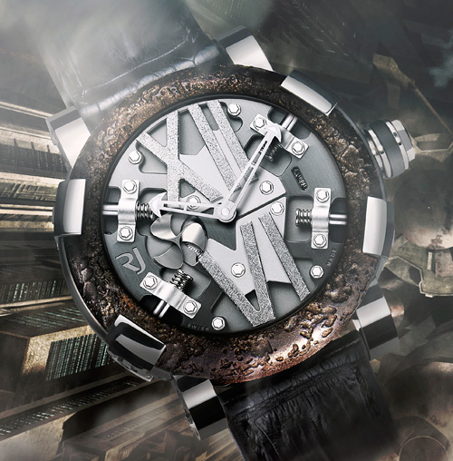 Romain Jerome's Steampunk (Image courtesy Romain Jerome)