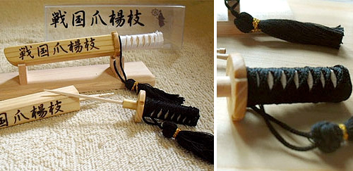 Samurai Sword Toothpick Holder (Images courtesy the Japan Trend Shop)