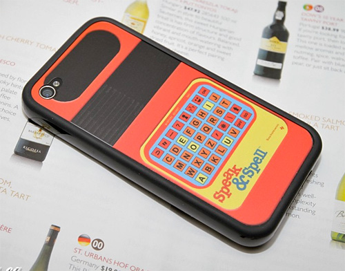 iPhone 4 Speak & Spell Decal (Image courtesy Etsy)