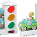 Stoplight Alarm Clock Assumes Your Child Doesn't Know When To Get Up, But Knows The Rules Of The Road