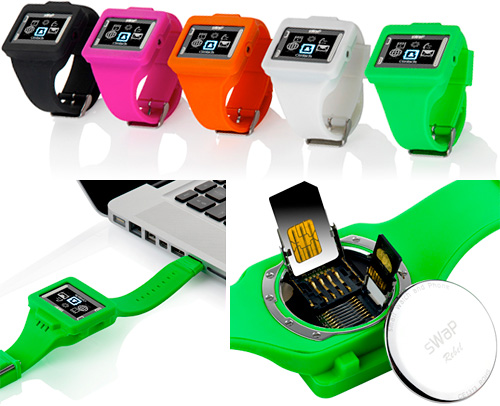 sWaP Rebel Smart Watch And Phone (Images courtesy Dyal Trading)