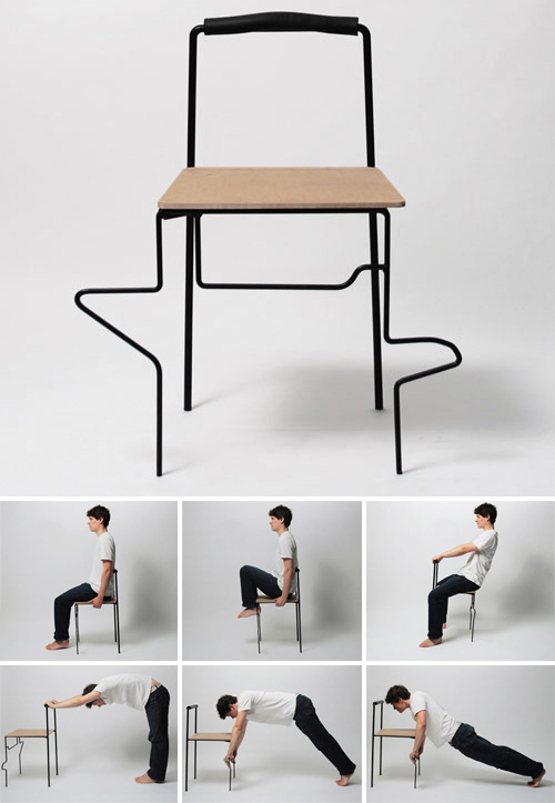 Tai Chi Chair (Images courtesy Yuan Yuan)