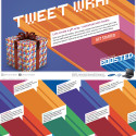 More Geeky Wrapping Paper – Samsung's Tweetwrap