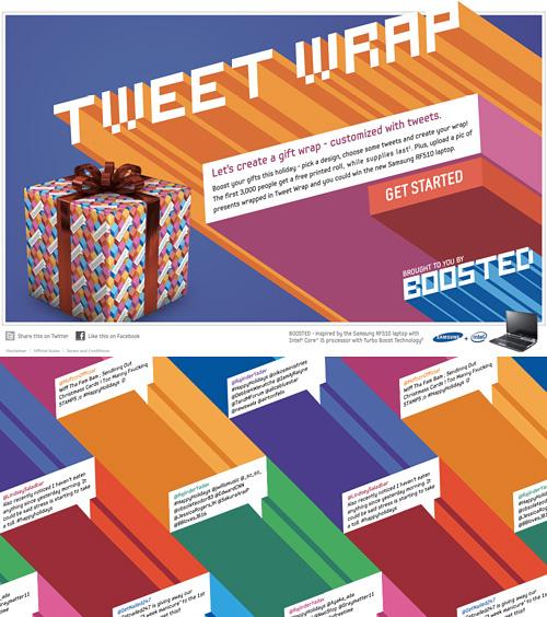 Samsung Tweetwrap (Images courtesy Samsung)