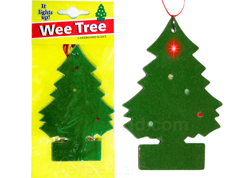 Wee Tree LED Air Freshener (Image courtesy Perpetual Kid)