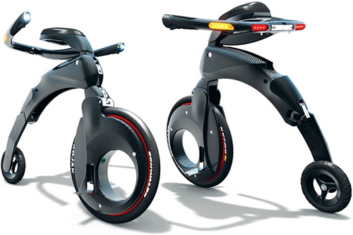 YikeBike (Image courtesy YikeBike Limited via Wired Gadget Lab)